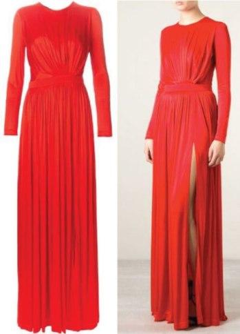 EMANUEL-UNGARO-draped-evening-dress