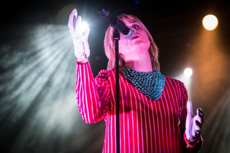 "Milan Italy. 11th November 2015. The Irish singer-songwriter ROISIN MURPHY performs live on stage at Fabrique to present his new album ""Hairless Toys"""
